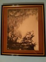 Kontuly Béla - Peer Gynt, 1920 körül, hidegtű, art deco rézkarc