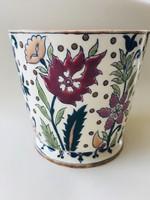 Zsolnay kaspó , váza