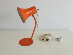 Régi retro Szarvasi asztali fém lámpa mid century