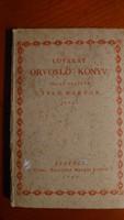 Tseh Marton: Lovakat orvosló könyv 1797 újra nyomat