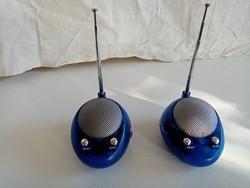 Két mini rádió