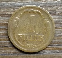 1 Fillér 1928 BP.