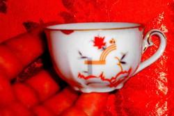 Meisseni porcelán mokkás  csésze