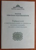 MNB tájékoztató - 2009