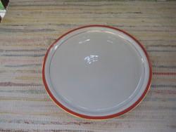 Zsolnay kör alakú  tálca  30,2  cm  ,   használt de jó állapotú  ...
