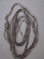 Ezüst lánc (   835) , extra hosszú ,200 cm.