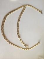 Női nyaklánc és karlánc 14k arany 24,8gramm