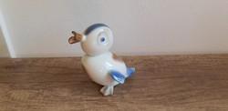Aquincum porcelán art deco kacsa aquazur