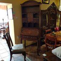 Író-szekrény  + szék