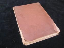 Német  / gót  /  nyelvű regény  1928 ból   mártott  papíron