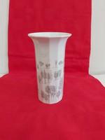 Gyönyörű ritka Rosenthal váza - Winterreise