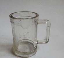 Régi királyi címeres pohár