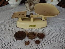 Harper Angol Vintage mérleg , vintage Angol súlyokkal