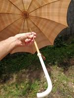Antik csont fogantyús ernyő esernyő! Antik hihetetlen elegancia!