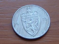 NORVÉGIA 50 ŐRE 1975