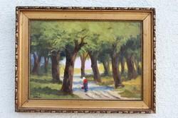 Ferenczy Valér olajfestmény