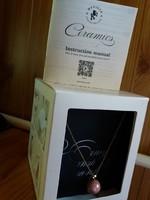 MEVISTO  kerámia-ezüst ékszer, mini laborral-egyedi ajándék karácsonyra