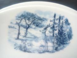 Bavaria kék mintás tányérok 3db