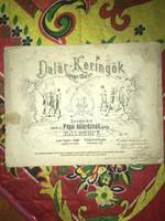 Pápa/1871!!Dalár-Keringő Zongorára szerzése a pápai Dalárdának  ajálja Kálldoki V. 1871!!