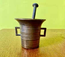 Mini rézmozsár 11 cm
