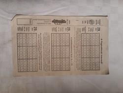 1984-es biankó lottószelvény