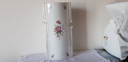 Hollóházi porcelán ritka hajnalka mintás váza