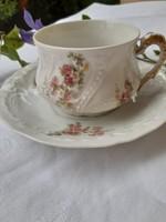 Gyönyörű Limoges csésze alátétjével