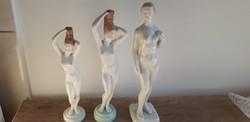 Hollóházi porcelán akt aktok