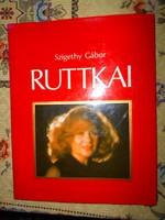 Ruttkai Éva Színművésznőnk életrajzi több mint 100 privát képpel készült album