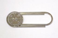 Ezüst pénzcsipesz (ZAL-Ag88790)