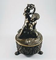 Bronz Tintatartó Hercules figurával