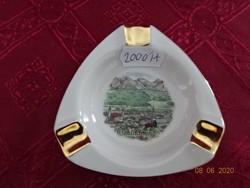 Bavaria német porcelán hamutál, Johann Seltmann Vohenstrausz jelzéssel.