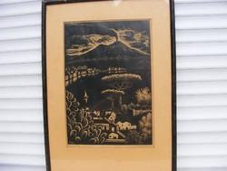 PATAY MIHÁLY SZOLNOK, 1910 - 1956,  Nápoly