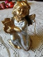 Karácsonyfa dísz angyalka figura