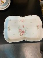 Hüttl porcelán kínáló tál