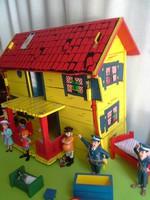 Harisnyás Pipi háza