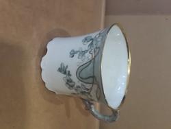 Angol teás csésze, hibátlan darab, porcelán, jelzettt.