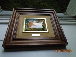 Salvador Dali festménye dekoratív  berámázott nyomata
