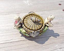 Schütz chilli marked, ornate ceramic box