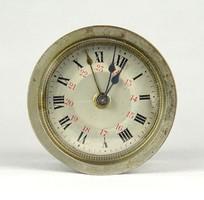 1B309 Antik működő francia óraszerkezet kandallóóra szerkezet 5.5 cm
