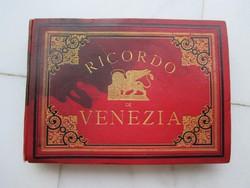 Velencei fotóalbum az 1900-as évek elejéről: 24 színezett fotó