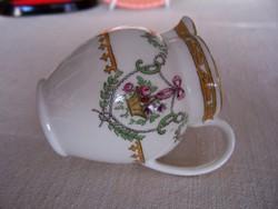 Copeland, antik angol fajansz tejszínes kanácska, kiöntő