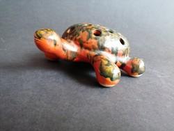 Tófej kerámia teknős teknősbéka - EP