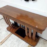 Art-deco konzolasztal