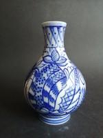 Orosz Lomonosov porcelán kobalt kék váza - EP
