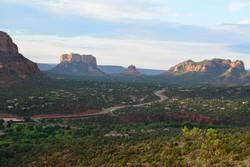 Arizona - Panoráma út; egyedi nagyméretű fotó canvas vászonkép