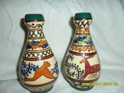 Extrém ritka art deco  kispesti váza pár