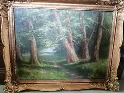 Daday Gerő: erdőrészlet 1913-ból