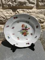 Óherendi, Tata, Fischer Mór antik jelzéssel tányér kézifestett különlegesség