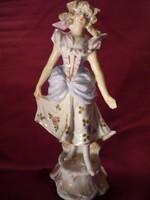 Antik SEVRES francia porcelán figura 200813